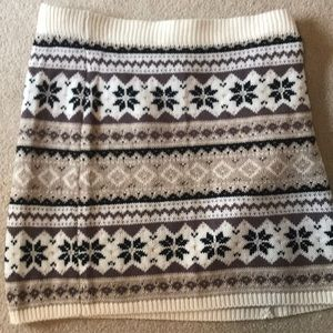 Knit Skirt - Great for Holidays!